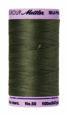 Mettler 50wt Solid Thread 547yd/500M Burnt Olive #9104-0731