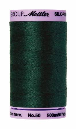 Silk-Finish 50wt Solid Cotton Thread 547yd/500M Swamp