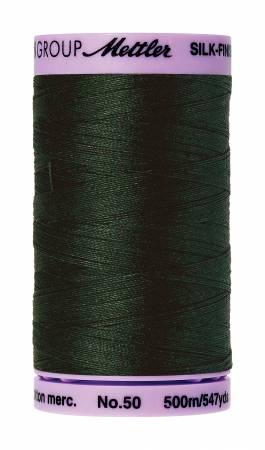 Mettler, Silk-Finish Cotton Thread, 500M, Enchanting Forest
