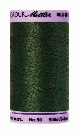 Silk-Finish 50wt Solid Cotton Thread 547yd/500M Cypress