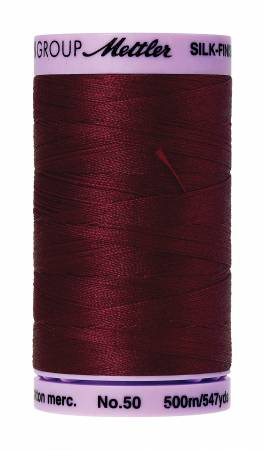 0918 Solid Cotton Thread 547yd  - Cranberry