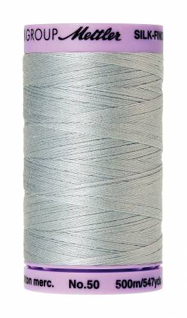 1081 - Mettler Silk-Finish 50wt Solid Cotton Thread 547yd/500M Moonstone