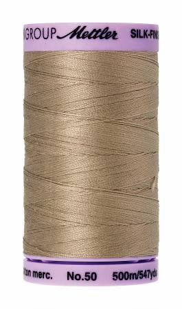 Mettler Silk-Finish 50wt Cotton Thread 547yd Sandstone