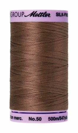 Mettler 50wt Solid Cotton Thread 547yd/500M Espresso #9104-1380