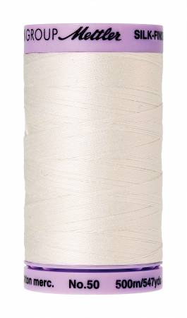 Mettler Silk-Finish Cotton Thread 500M Candlewick