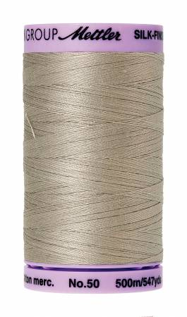 Mettler Silk-Finish 50wt Cotton Thread 547yd Drizzle