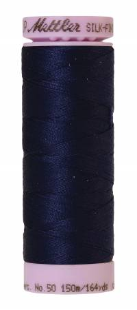 Cotton Silk-Finish 50wt, 164yds Dark Indigo 0016 / 0557
