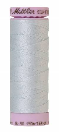 Mettler Silk-Finish 0039 Starlight Blue 50wt Solid Cotton Thread 164yd
