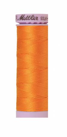 Silk-Finish 50wt Solid Cotton Thread 164yd/150M Pumpkin