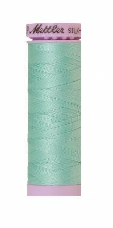 Silk-Finish 50wt Solid Cotton Thread 164yd/150M Silver Sage