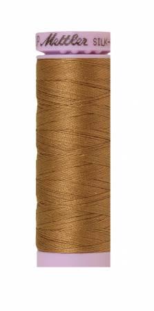 9105-0287 Silk-Finish 50wt Solid Cotton Thread 164yd/150M Dark Tan