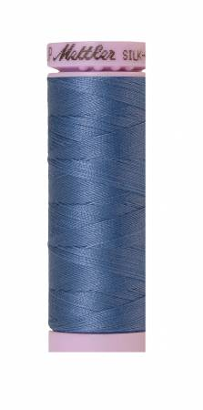 Silk-Finish 50wt Solid Cotton Thread 164yd/150M Smoky Blue 9105-0351