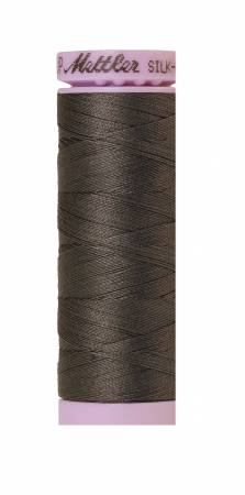 Mettler Silk-Finish 50wt Solid Cotton Thread 164yd/150M Dark Charcoal 0416