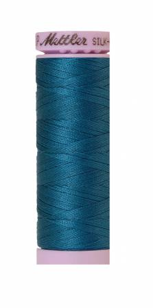 Silk-Finish 50wt Solid Cotton Thread 164yd/150M Dark Turquoise