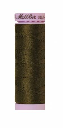 Silk-Finish 50wt Solid Cotton Thread 164yd/150M Golden Brown