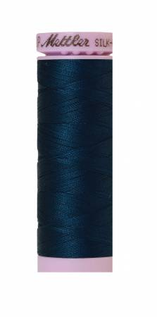 Silk-Finish 50wt Solid Cotton Thread 164yd/150M Slate Blue