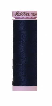 0825-Navy, 164 yds, Mettler, Silk-Finish 50wt Solid Cotton Thread