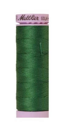 Silk-Finish 50wt Solid Cotton Thread 164yd/150M Bright Green