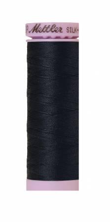 Silk-Finish 50wt Solid Cotton Thread 164yd/150M Black Iris