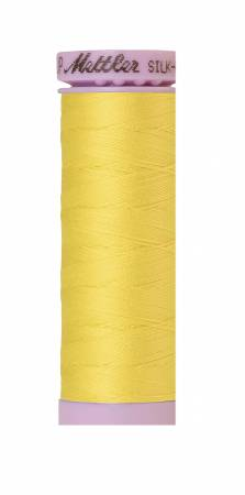 Mettler Silk-Finish 3507 Lemon Zest 50wt Solid Cotton Thread 164yd