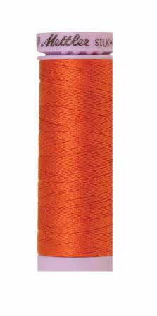 Silk-Finish 50wt Solid Cotton Thread 164yd/150M Mandarin Orange 6255