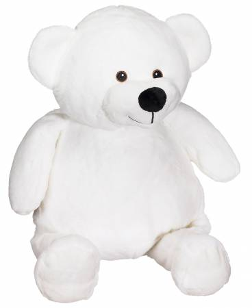 Mister Buddy Bear White 16in