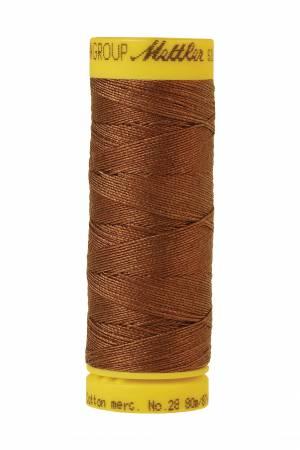 Silk-Finish 28wt Solid Cotton Thread 81YD Redwood