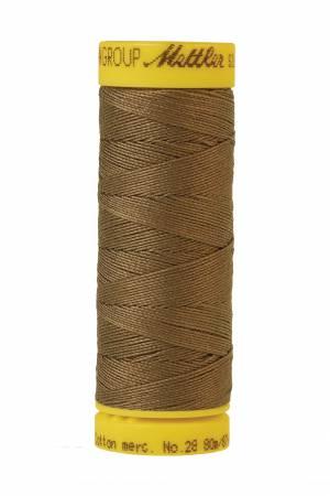 Silk-Finish 28wt Solid Cotton Thread 81YD Amygdala