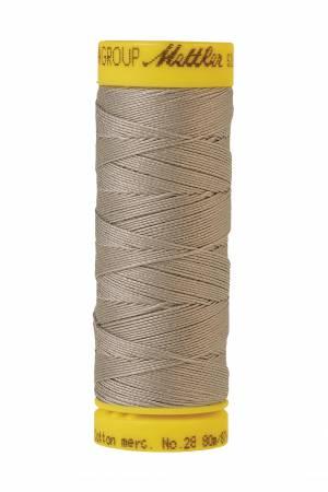 Silk-Finish 28wt Solid Cotton Thread 81YD Ash Mist