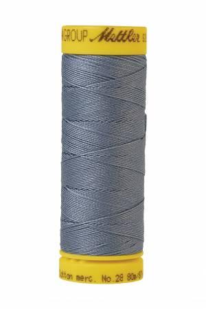 Silk-Finish 28wt Solid Cotton Thread 81YD Summer Sky