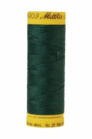 Silk-Finish 28wt Solid Cotton Thread 81YD Swamp