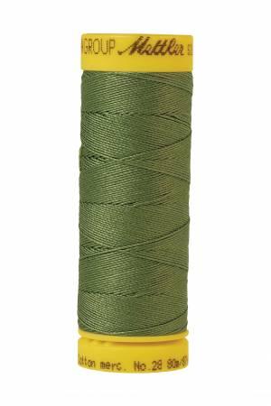 Silk-Finish 28wt Solid Cotton Thread 81YD Common Hop