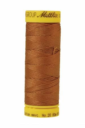 Silk-Finish 28wt Solid Cotton Thread 81YD Bronze