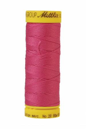 Silk-Finish 28wt Solid Cotton Thread 81YD Hot Pink