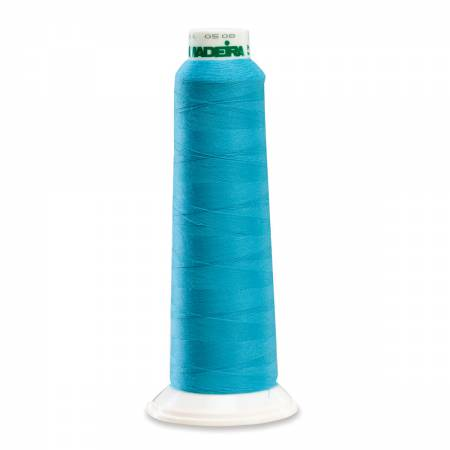 AeroLock 9892 Polyester Premium Serger Thread 2000yd Bright Turquoise