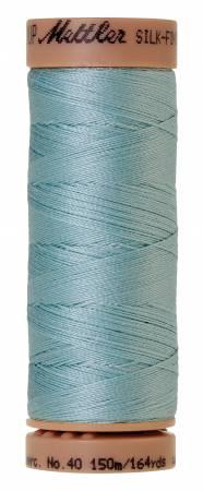 Mettler Silk-Finish 40wt Solid Cotton Thread 164yd/150M Rough Sea 0020