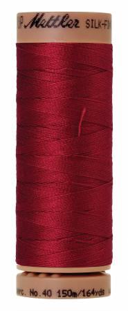 Silk-Finish 40wt Solid Cotton Thread 164yd/150M Fire Engine