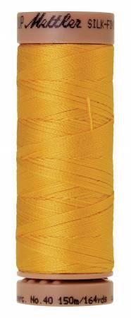 Mettler Silk-Finish 40wt Solid Cotton Thread 164yd/150M 120 Summersun