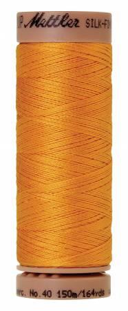 Silk-Finish 40wt Solid Cotton Thread 164yd/150M Marigold