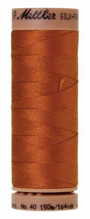 Silk-Finish 40wt Solid Cotton Thread 164yd/150M Copper