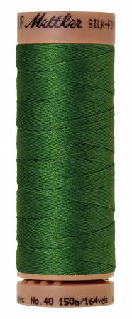 Mettler Silk-Finish 40wt Solid Cotton Thread 164yd/150M 214 Treetop