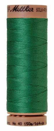 Mettler Silk-Finish 40wt Solid Cotton Thread 164yd/150M 224 Kelley