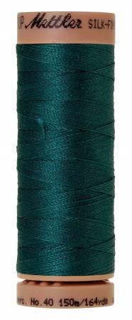 Mettler Silk-Finish 40wt Solid Cotton Thread 164yd/150M 314 Spruce