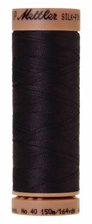 Silk-Finish 40wt Solid Cotton Thread 164yd/150M Evening Blue
