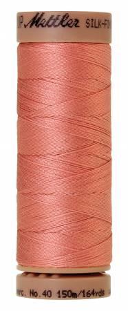 Silk-Finish 40wt Solid Cotton Thread 164yd/150M Antique Pink