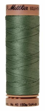 Silk-Finish 40wt Solid Cotton Thread 164yd/150M Palm Leaf