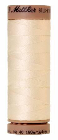 Mettler  Silk-Finish 40wt Solid Cotton Thread 164yd/150M Muslin
