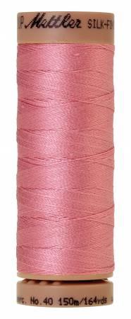 Mettler Silk-Finish 40wt Solid Cotton Thread 164yd/150M 1057 Rose Quartz