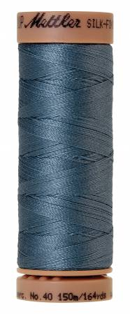 Silk-Finish 40wt Solid Cotton Thread 164yd/150M Laguna