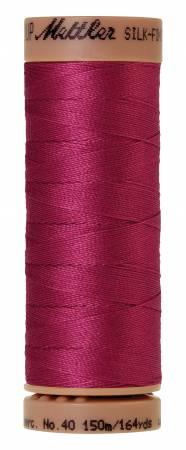 Mettler Silk-Finish 40wt Solid Cotton Thread 164yd/150M 1417 Peony